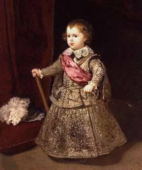 Principe Baltasar Carlos in Argento 1633- Diego Velasquez